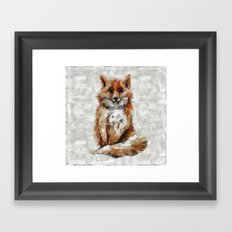 Foxy Fox Framed Art Print