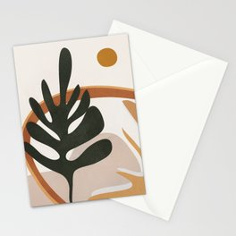 Abstract Plant Life I Stationery Cards