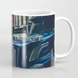 Truck in the city Coffee Mug