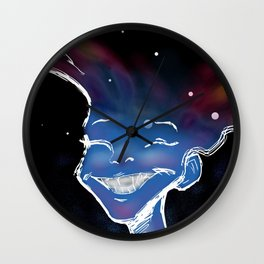 In Her Space Wall Clock