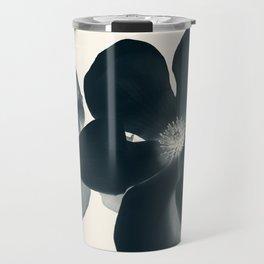 Cyan Magnolia #1 Travel Mug