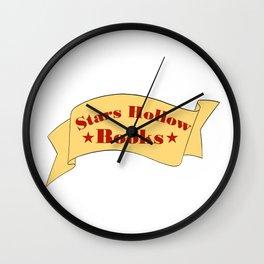 Stars Hollow Books Wall Clock