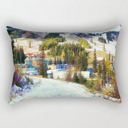Mountain Haven Rectangular Pillow
