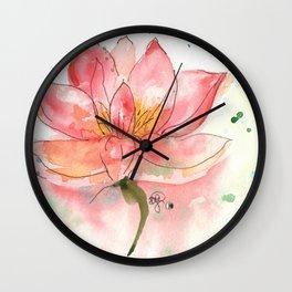 SEKA Lotus Wall Clock