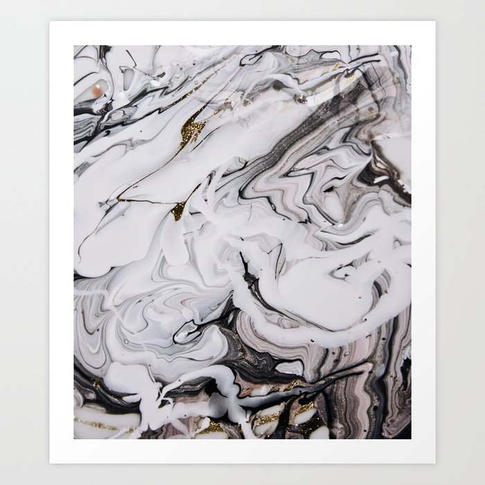 Chic Marble Art Print