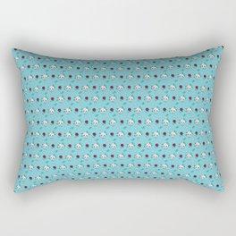 Deadly Cute Rectangular Pillow