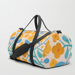 Abstraction_Floral_Blossom_02 Duffle Bag