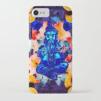 ganesh iPhone & iPod Cases featuring ganesh by Candice Steele Collage and Design