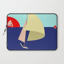 Sailing in May with May - shoes stories Laptop Sleeve