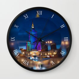 PKiN Palace of Culture and Science Wall Clock