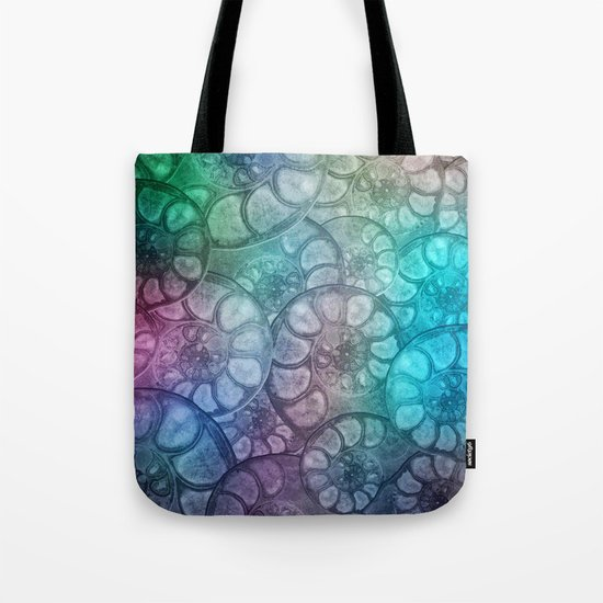 Fossil Shells Tote Bag