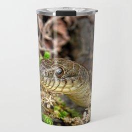 A Snake In The Moss Travel Mug