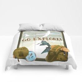Go Explore! Comforters