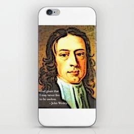 John Wesley 1 iPhone Skin