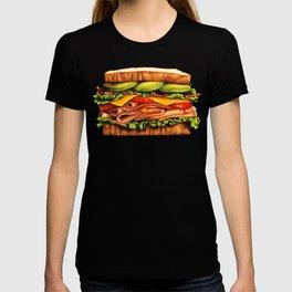 Sandwich Pattern - Turkey T-shirt