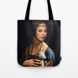 Bey Plays with the Family Ferret Tote Bag