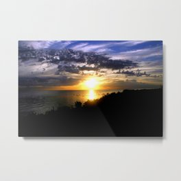 Sunrise over Port Philip Bay - Melbourne Metal Print