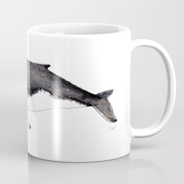 North Atlantic Humpback whale with calf Coffee Mug