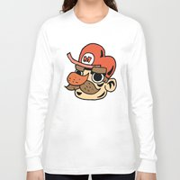 super mario Long Sleeve T-shirts featuring Super Mario by Deoz World