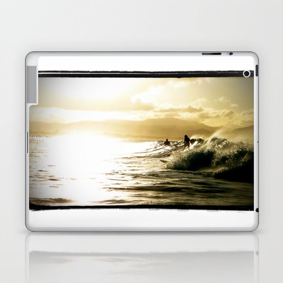 Surf Sunset Laptop & iPad Skin