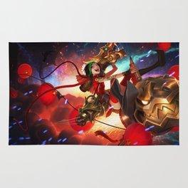 Firecracker Jinx League Of Legends Rug