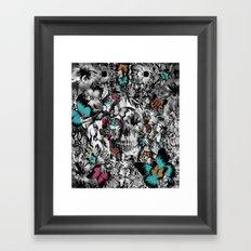 Butter and bones Framed Art Print