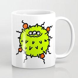 Green Bacteria Coffee Mug