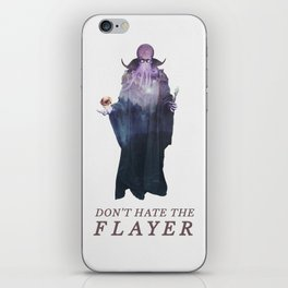 Mind Flayer (Typography) iPhone Skin