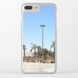 Temple of Luxor, no. 17 Clear iPhone Case