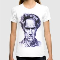 clint eastwood T-shirts featuring Clint Eastwood by Bronsolo Illustration