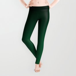 Green , gradient Leggings