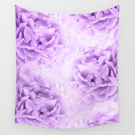 Purple Peonies Dream #2 #floral #decor #art #society6 Wall Tapestry