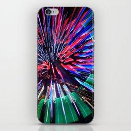 Night Light 144 - Wheel iPhone Skin