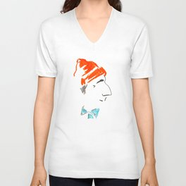 Jacques-Yves Cousteau Unisex V-Neck