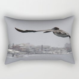 Pelican Landing Strip Rectangular Pillow