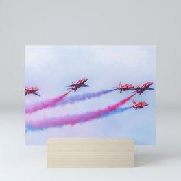 Red Arrows Mini Art Print