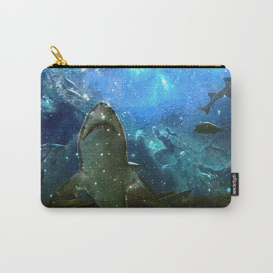 The Great White Marine Lava Lamp Carry-All Pouch