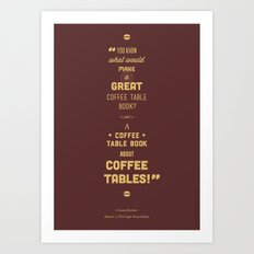 Seinfeld Posters - The Cigar Store Indian Art Print