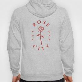 Rose ,Portland,Oregon,city Hoody