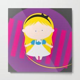 Alice In Wonderland_00 Metal Print