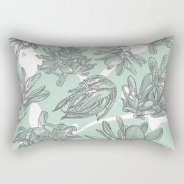 Succulent Rhapsody Rectangular Pillow