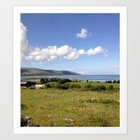 irish Art Prints featuring Irish Countryside by Tru Images Photo Art