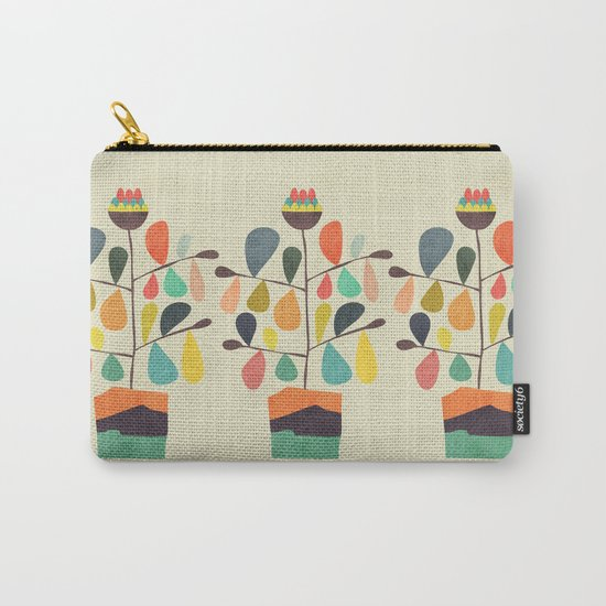 Potted Plant 4 Carry-All Pouch