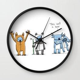 This Isn't A Bear Wall Clock
