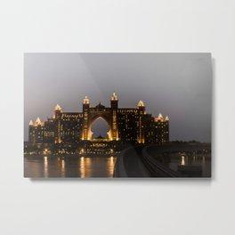 Dubai, The Conquest of Atlantis Metal Print