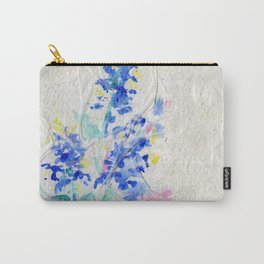 Blue Bonnets by Kathy Morton Stanion Carry-All Pouch