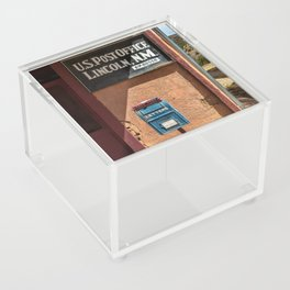 Post Office Lincoln NM Acrylic Box