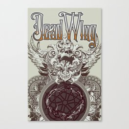 Dead Wing Canvas Print
