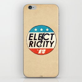 Elect Ricity iPhone Skin