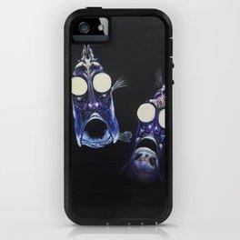 deepsea hatchet fish duo iPhone Case